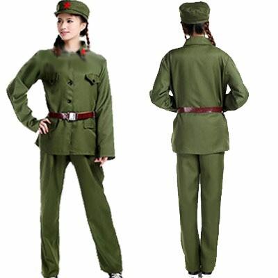 新人民服セット(65年式革命紅工兵表演衣装)(人...