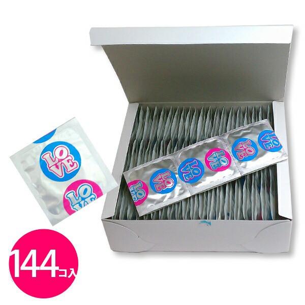 業務用 コンドーム 144個入 LOVE&SKIN ...