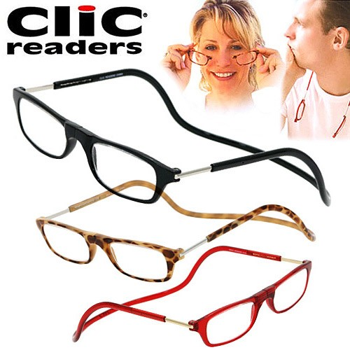 クリックリーダー clic readers シニアグラス/リ...