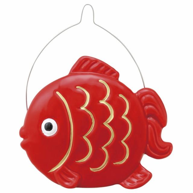 蚊取り器 たて型蚊遣器 赤金魚 [高さ16 x 19cm] ...