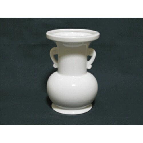 仏花瓶 白 3寸(高さ9.1cm) 仏具 仏壇 供養 お供え...