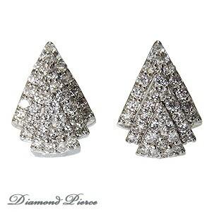ダイヤモンド ピアス ダイヤ 0.64カラット ダイヤ...