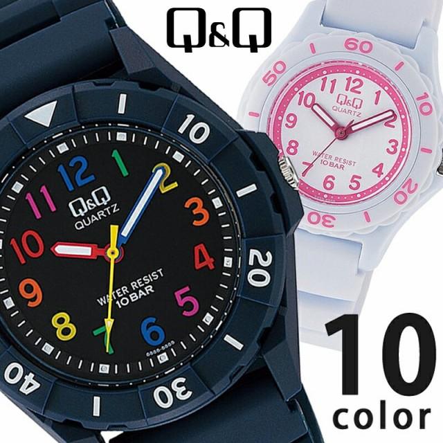 Q&Q メンズ レディース ユニセックス 腕時計 カラ...