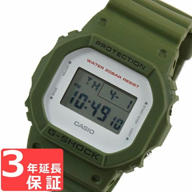 カシオ CASIO Gショック G-SHOCK DW-5600M-3DR カ...