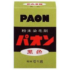 【粉末染毛剤】パオン 黒 6g 家庭用白髪染めのロ...