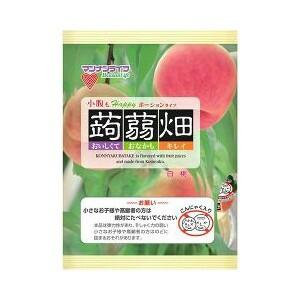 蒟蒻畑 白桃味 25g×12個入り マンナンライフ コ...