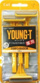 貝印 カミソリ ヤングT YNGT-3B(3本入)  【k】 T...