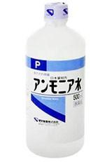 ケンエー アンモニア水P 500ml 健栄製薬【第3類医...