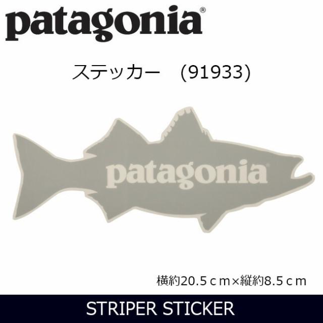 パタゴニア Patagonia  STRIPER STICKER ステッカ...