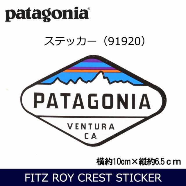 パタゴニア Patagonia FITZ ROY CREST STICKER 91...