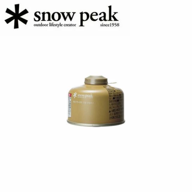 スノーピーク (snow peak) ガスカートリッジ Giga...
