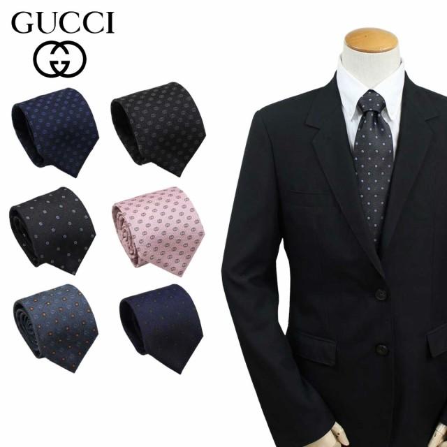 グッチ GUCCI ネクタイ イタリア製 シルク ビジネ...