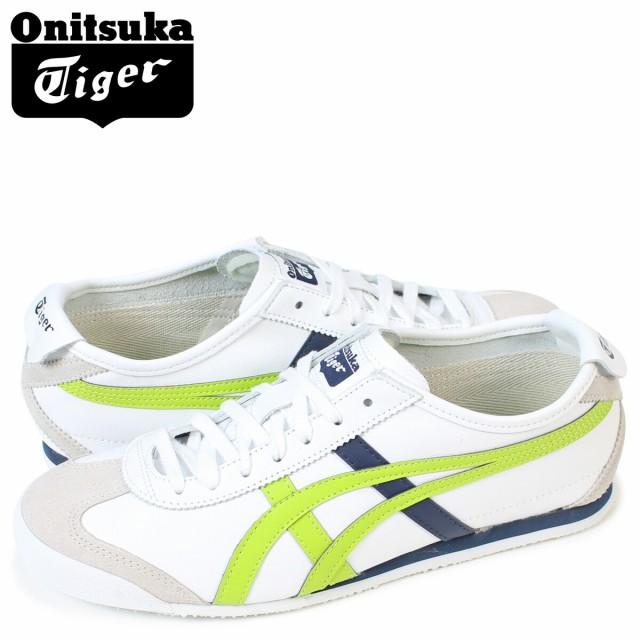 オニツカタイガー メキシコ66 Onitsuka Tiger MEXICO 66 メンズ スニーカー アシックス HL474-0187 靴 ホワイト 9/26 新入荷