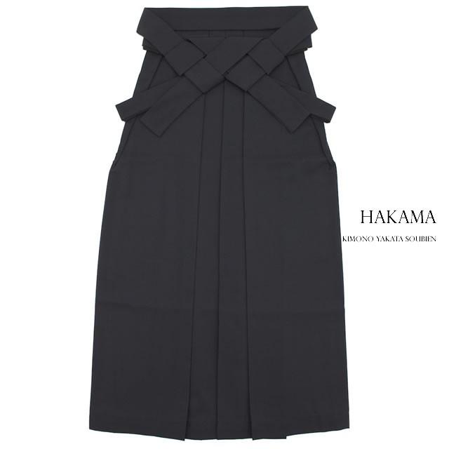 【卒業式の着物にオススメなレディース袴】黒/ブ...