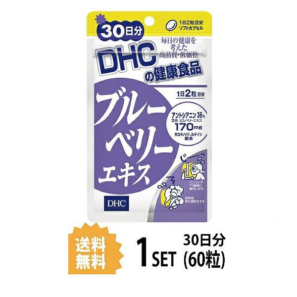 【送料無料】  DHC ブルーベリーエキス 30日分 (...