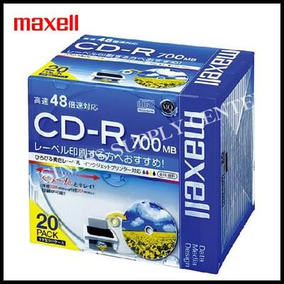 日立マクセル データ用CD-R<48倍速/20枚> EMC-C...
