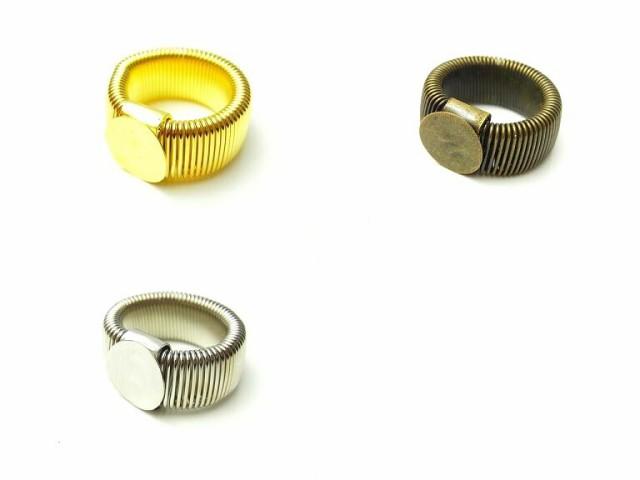 (225')デコ土台 リング 指輪 簡単デコ ゴール...