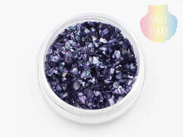 (C2) シェルフレーク 【2.ブラックダイヤモンド】...
