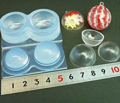 (S247) シリコンモールド 球体 ガラスボール L...