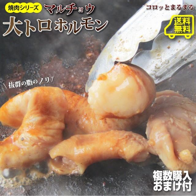 【送料無料・冷凍】タレ漬け牛ホルモン(マルチョ...
