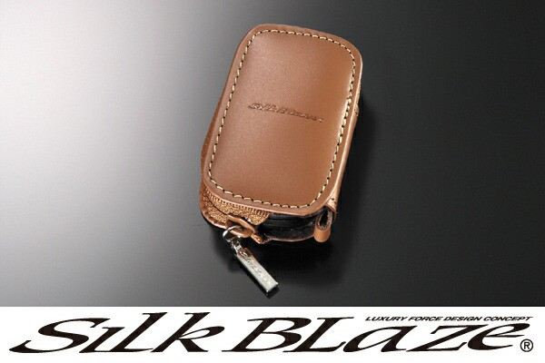 SilkBlaze シルクブレイズ 本革スマートキーケー...