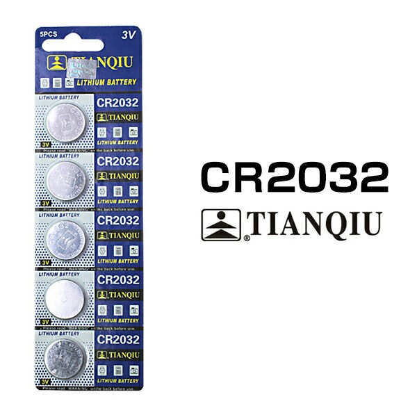 CR2032  ボタン電池 5個セット リチウム 電池 バ...