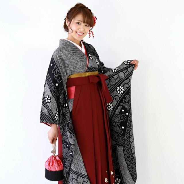 卒業式 袴 レンタル 女 袴セット 正絹 振袖 着物...