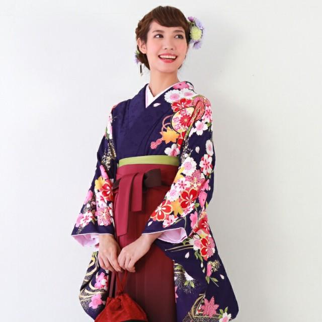 卒業式 袴 レンタル袴セット卒業式袴セット2尺袖...
