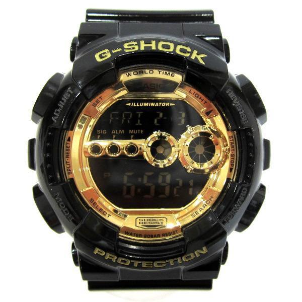 時計 カシオ G-SHOCK GD-100GB【中古】