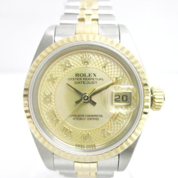 時計 ROLEX デイトジャスト79173 NRD【中古】