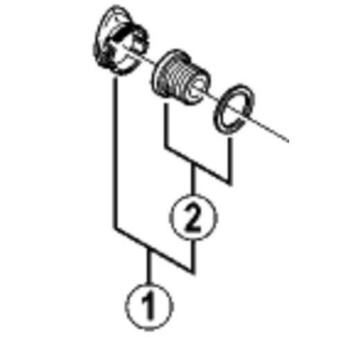 [2]クランク取付ボルト & ワッシャー