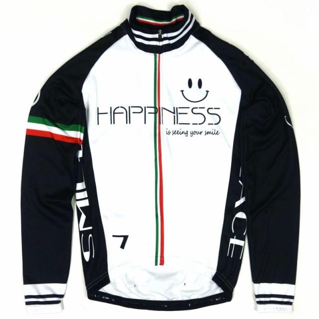 セブンイタリア Happiness Smile LS Jersey White...