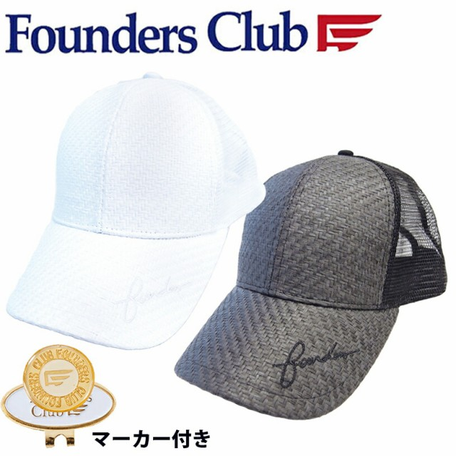 FOUNDERS CLUB マーカー付きメッシュキャップ FC-...
