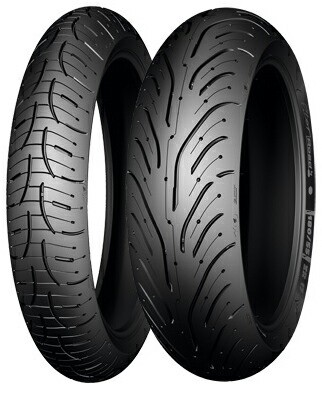 MICHELIN Pilot Road 4 160/60ZR17 69W Rear【バ...