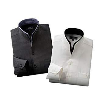 二重変化衿ドレスシャツ2枚組