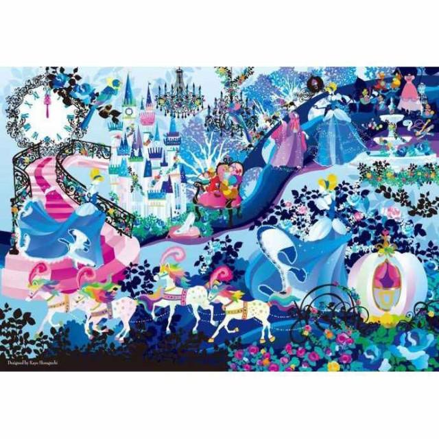 ディズニー ピュアホワイトジグソーパズル 1000ピース ブリリアント カラーズ シンデレラ DP-1000-026 【テンヨー】