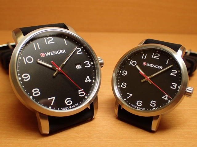 WENGER ウェンガー 腕時計 Avenue ブラック文字盤...