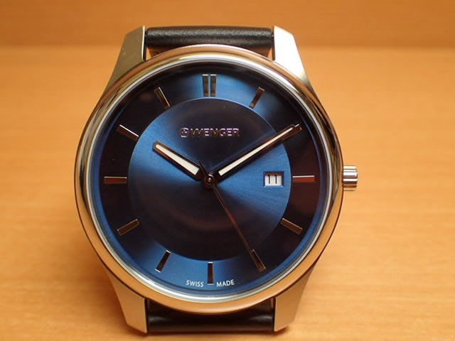 WENGER ウェンガー 腕時計 City Classic 01.1441....