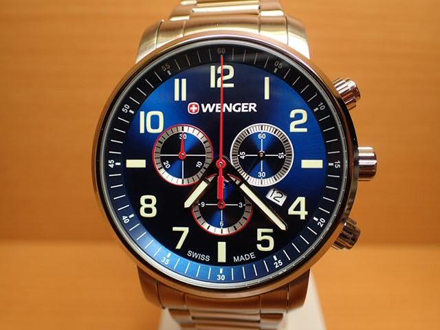 WENGER ウェンガー 腕時計 Attitude Chrono 01.15...