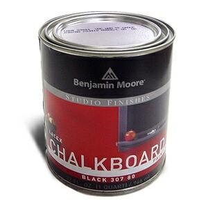 【黒板塗料】 Benjamin Moore CHALKBOARD PAINT ...