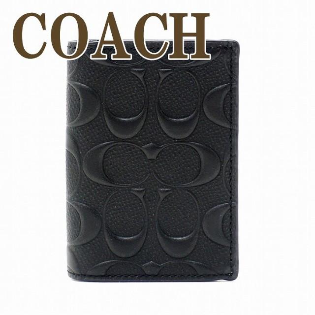 コーチ COACH メンズ カードケース 名刺入れ 定期...