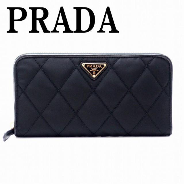 プラダ PRADA 財布 長財布 レディース ラウンドフ...