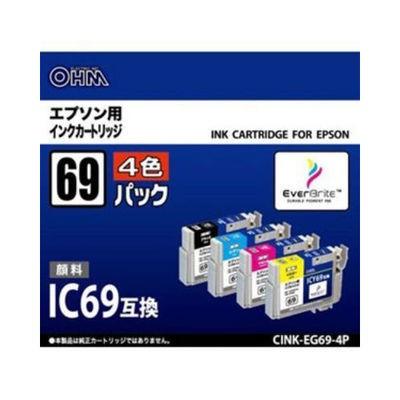 オーム電機  【送料無料】 CINKEG694P-69 エプソ...