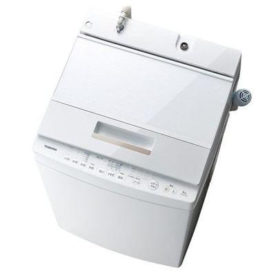東芝 【送料無料】 AW-8D5-W 全自動洗濯機 (洗濯8...