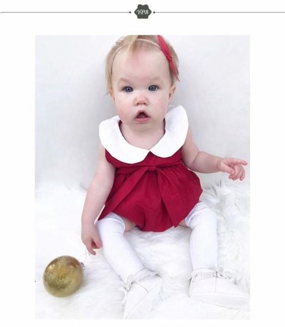 4a2e5209b960c ロンパース ロンパス 夏 おしゃれ 女の子 赤ちゃん ベビー ノースリーブ 無地 襟 つなぎ 可愛い かわい