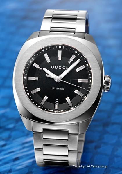 6cd2bbddced グッチ 時計 メンズ GUCCI 腕時計 GG2570 XL YA142201の通販はWowma ...