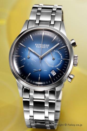 093709c9e6 キャサリンハムネット 時計 メンズ KATHARINE HAMNETT 腕時計 クロノグラフ6 KH20H3-B64