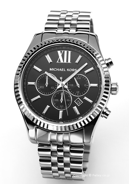 a106e8d3e033 マイケルコース 時計 MICHAEL KORS メンズ 腕時計 Large Lexington Chronograph MK8602