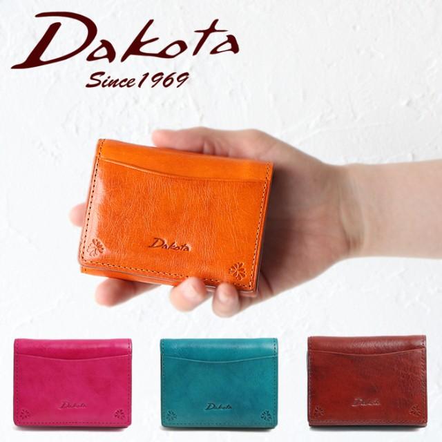b763ea1fe546 ポイント10倍 ダコタ 財布 三つ折り財布 Dakota 小さい財布 バンビーナ 36121 コンパクト レディース ブランド