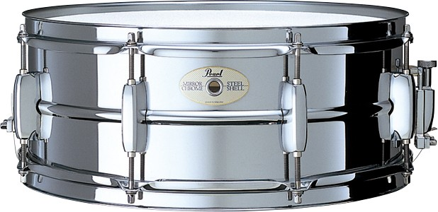Pearl SS-1455 パール スネア ドラム Standard Steel 【Pearl Tシャツプレゼント!】【z8】